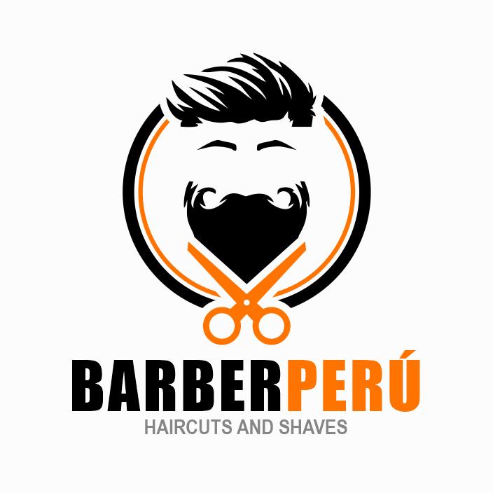 logo barber peru